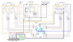 Принципиальная схема варочной панели Aeg