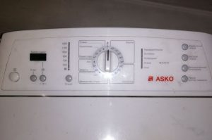 устранить ошибку стиральной машины Asko