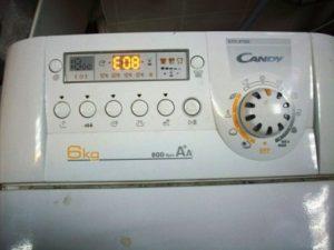 Устранить ошибки стиральных машин Candi