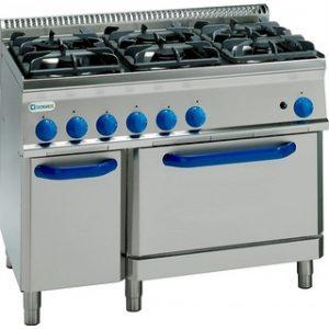 Ремонт газовых кухонных плит Tecnoinox