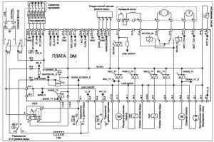 принципиальная схем стиральной машины Zanussi
